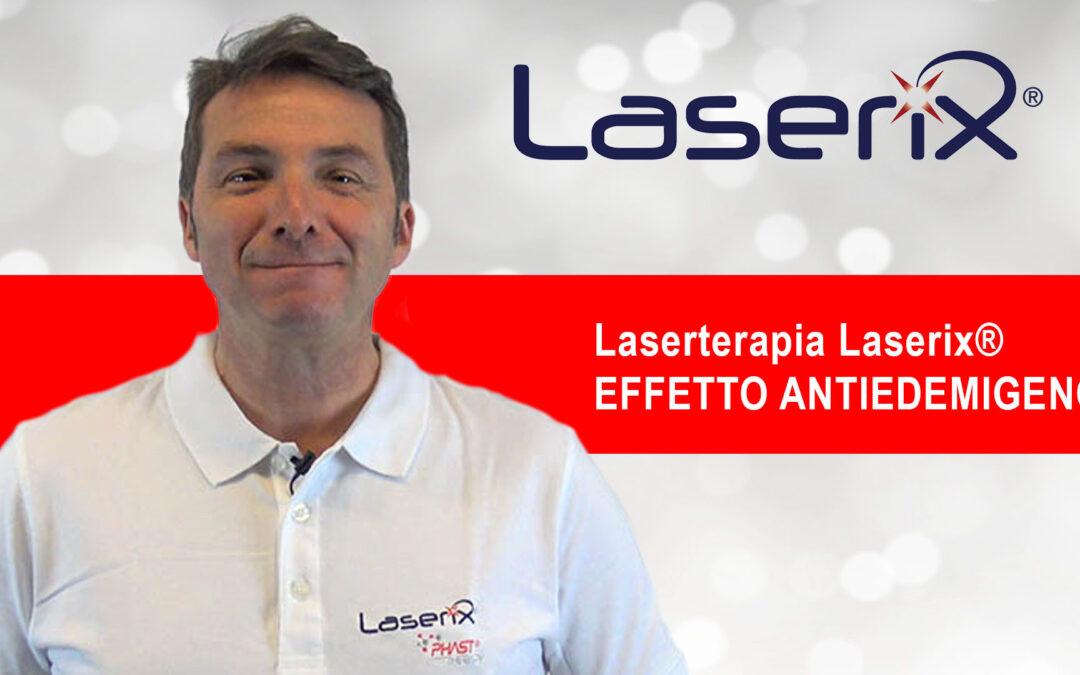 L' effetto antiedemigeno Laserterapia Laserix