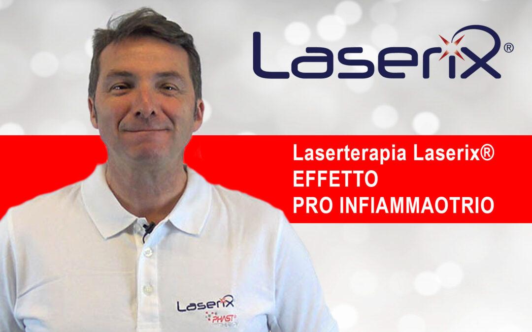 L' effetto Pro Infiammatorio Laserterapia Laserix